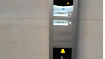 Installation d'un Portier Video loi PMR